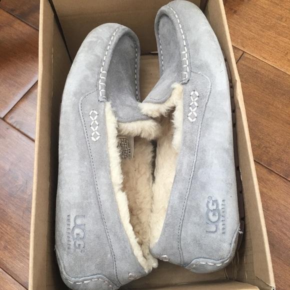 d59330e66f8f UGG Ansley Light Gray Shoes Slippers. M 5b85cc83f303699d1f768b42